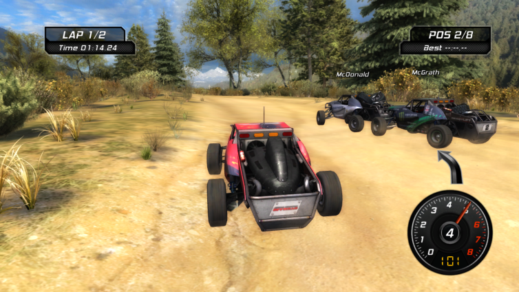 Jeremy McGrath's Offroad Screenshot 1