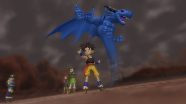 Blue Dragon Screenshot 2