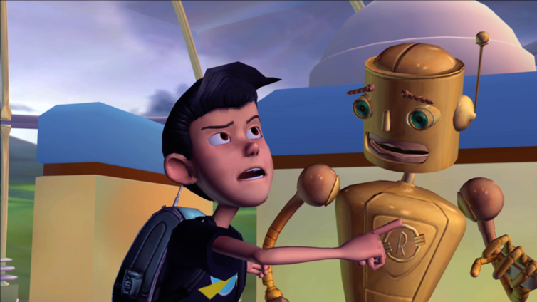 Meet the Robinsons Screenshot 2