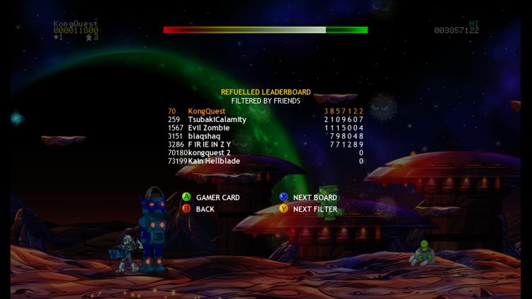 Jetpac Refuelled Screenshot 3