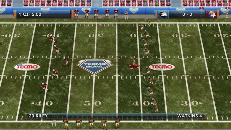 Tecmo Bowl Throwback Screenshot 1