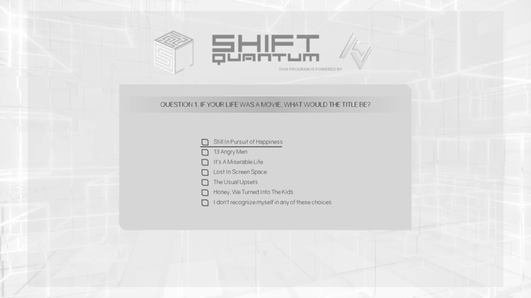 Shift Quantum Screenshot 2