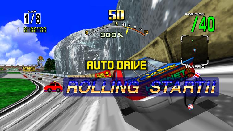 Daytona USA Screenshot 2