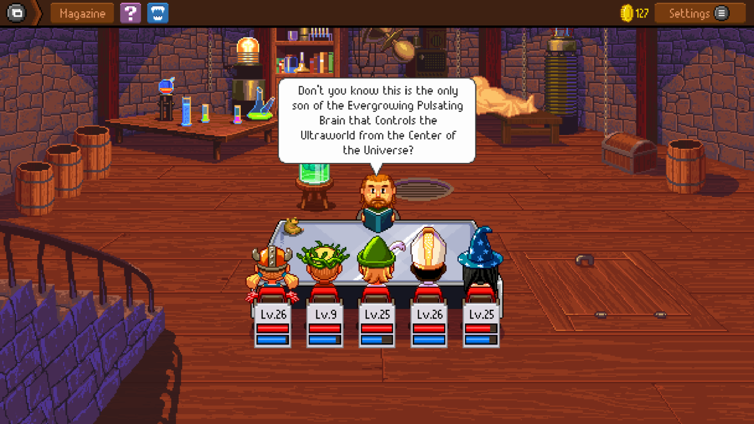 Knights of Pen & Paper 2 Deluxiest Edition Screenshot 1