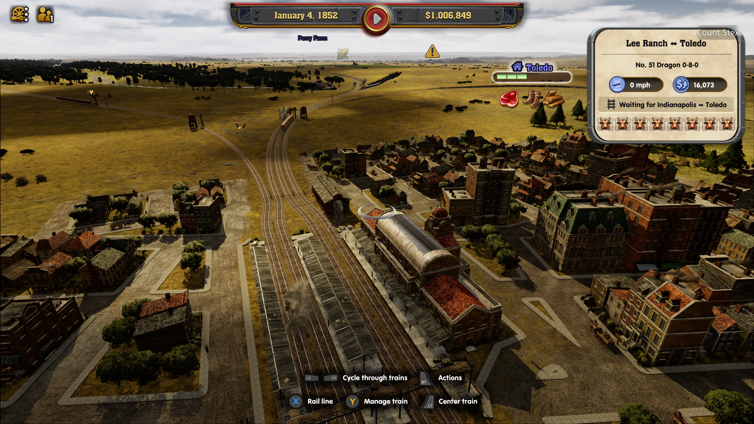 Railway Empire News, Achievements, Screenshots and Trailers