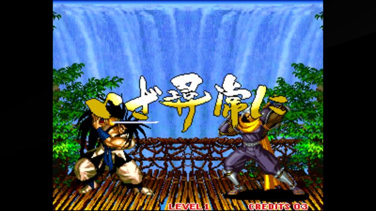 ACA NEOGEO SAMURAI SHODOWN III Screenshot 3