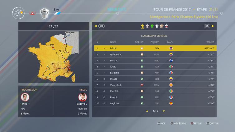 Tour de France 2017 Screenshot 3