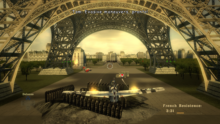 Blazing Angels: Squadrons of WWII Screenshot 1